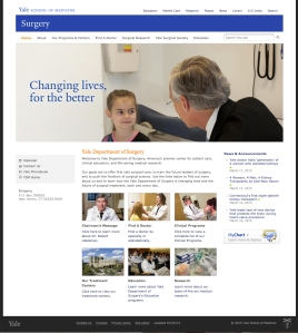 Yale web